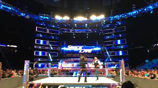 Shane McMahon Entrance Ringside LIVE! WWE SmackDown Oct. 3 in Denver