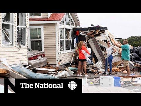 Hurricane Dorian responsible for four deaths in U S