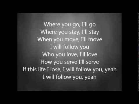 Chris Tomlin I Will Follow With Lyrics Chords Chordify