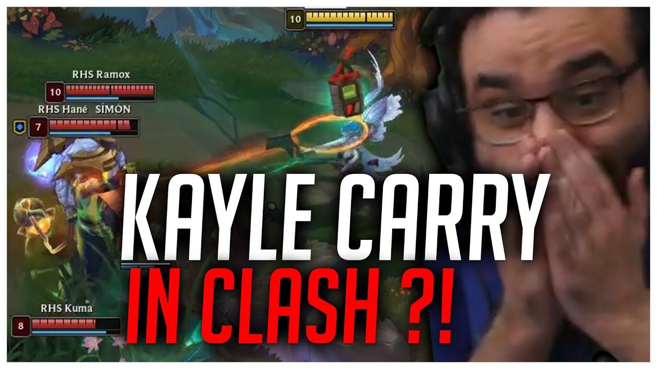 PlayersHUB - KAYLE ABUSE IN CLASH TIER 1! [League of Legends]