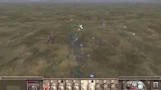 Medieval 2 Total War Kingdoms Live AI Battle #1 Norway Vs Wales