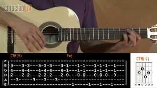 Videoaula Flor de Lis (aula de violão)