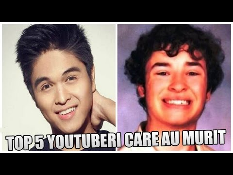 YOUTUBERI CARE AU MURIT