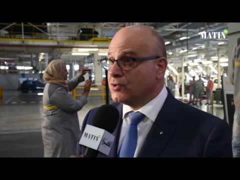 L'usine Renault-Nissan de Tanger célèbre son millionième véhicule