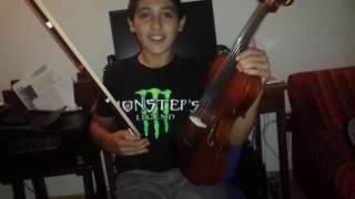 Il violinista coglione