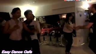 Japan Salsa TV  [Issei & Juliana ] @Easy Dance Cafe Video by TAMA 20120602
