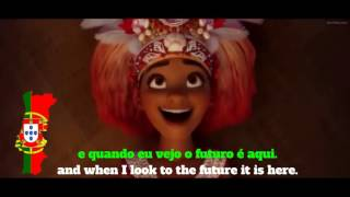 Moana/Vaiana Similar & Same Lyrics in Portuguese BR/EU