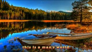 Seal- It's A Man's Man's Man's World (lyrics)