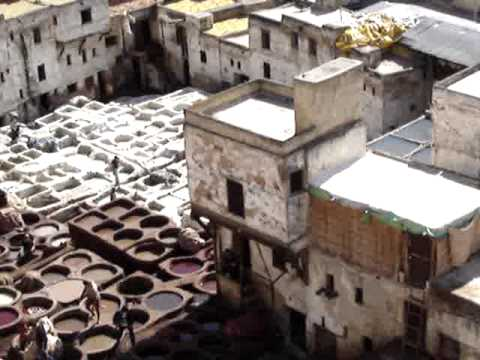 The Tanneries of Fes