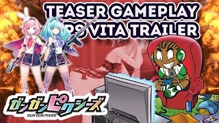 Gun Gun Pixies PS Vita Gameplay Teaser Trailer - PS Vita 2017 Game Releases