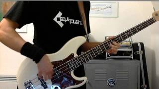 Muse: Hysteria bass cover, EHX Deluxe Bass Big Muff Pi