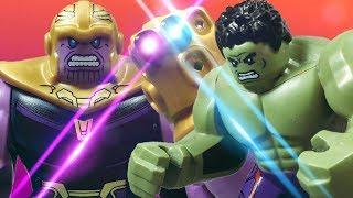 LEGO Avengers Infinity War: Thanos vs Hulk