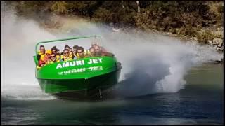 Amuri jetboating Hanmer Springs