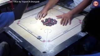 LM Vineet Dadarkar vs Yogesh R Dhongade Set 2 YMCA Carrom Tournament 7-12 Mar, 2017 width=