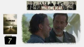 "Negan and Rick ""But that's not you anymore """