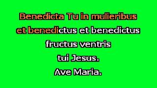 Ave Maria (G+) by F. Schubert Karaoke Accompaniment