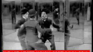 very funny Charlie Chaplin Escape from police