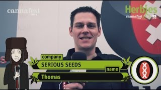 Serious Seeds @ Cannafest 2014