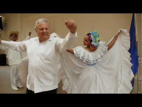 TAIWAN NICARAGUA AMBASSADOR WILLIAM M.TAPIA DANCING