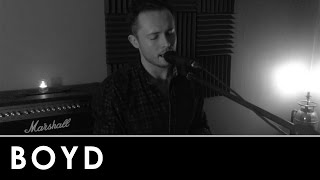 Coldplay - Everglow - BOYD Live Acoustic Cover