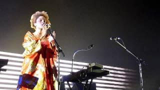 Massive Attack-Teardrop  Live @ Lotto Arena, Antwerp
