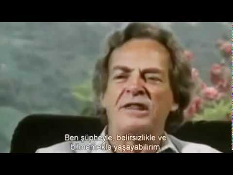 Tanrı Varmı Yokmu, Richard Feynman ve Evren/Kainat Üzerine Görüşleri