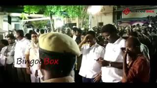 பரபரப்பான சூழ்நிலையில் Gopalapuram இல்லம்   Kalaingar Karunanidhi width=