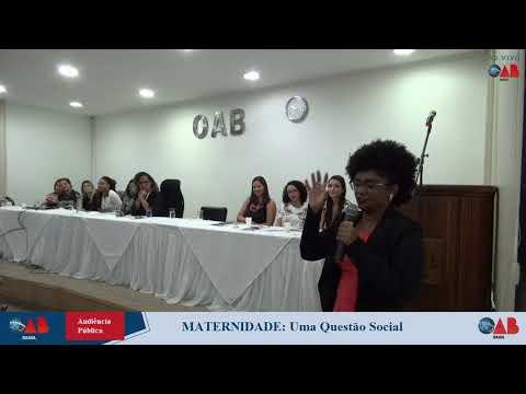 [Audiência Pública - Maternidade: Uma questão social]
