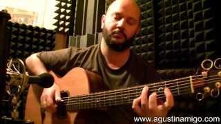 """Agustin Amigo - """"Nessun Dorma"""" (Giacomo Puccini) - Solo Acoustic Guitar"""