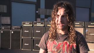 "Airbourne - Behind the Scenes of ""Live It Up""!"