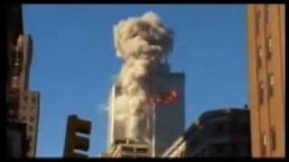 WTC 9/11  Plane Impact in North Tower - WTC 9/11 Impacto do Avião na Torre Norte