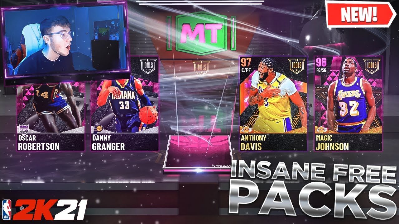 Excapar - I OPENED UP OVER 100 FREE PACKS AND YOU WONT BELIEVE WHAT WE PULLED!! NBA 2K21 PACK OPENING!!
