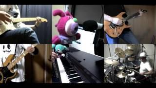 [HD]Bakemonogatari ED [Kimi no Shiranai Monogatari] Band cover
