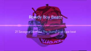 21 Savage x Ski Mask The Slump God x Smokepurpp type beat (Prod. by Rowdy Boy)