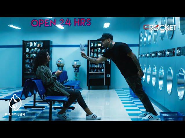 """Video oficial de """"Hasta el amanecer"""" de Nicky Jam"""