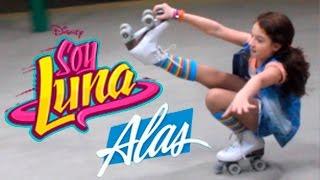 Dançando nos patins Alas de Soy Luna