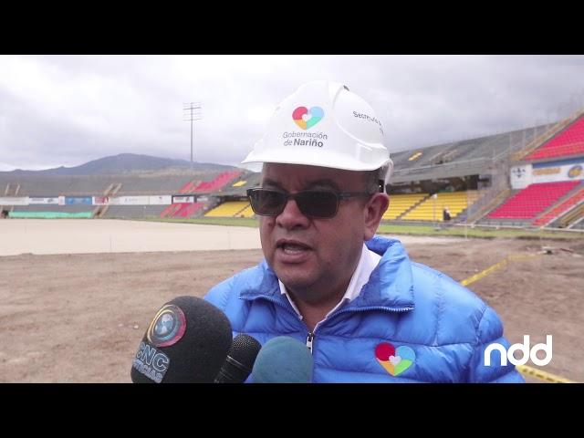 Nota del día avances obras Estadio Libertad