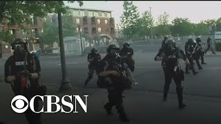 WCCO photographer arrested covering protests