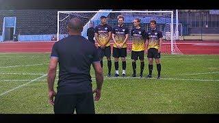 freekickerz vs Roberto Carlos ⚽ Free Kick Shootout width=