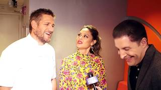 Vanessa Lachey on 98 Degrees and Curtis Stone on Anthony Bourdain