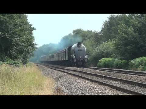 LNER A4 Class 4-6-2 no 60009 Union of South Africa – 12 August 2012