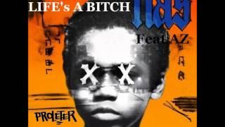 Nas - Life's a Bitch Feat AZ (ProleteR remix)
