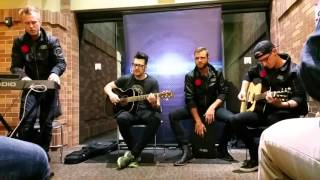 "Starset performing ""My Demons (Acoustic)"" at Modesto Center Plaza on March 11th of 2016"