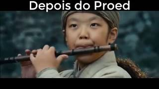 ANTES E DEPOIS DO PROERD