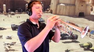 """The Flag Parade (from """"Star Wars Episode I"""") Trumpet Cover"""