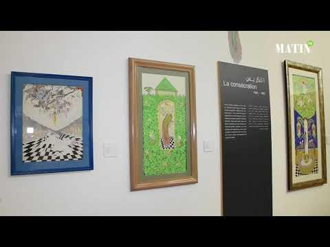 Video : Musée de Bank Al-Maghrib : Saladi ou le génie d'une peinture singulière et énigmatique