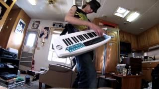 Johan Alf Koskela - Hi-Tension ii (Live keytar cover)