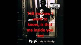 Korn - Ass itch lyrics