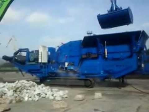 250-350 ton/saat Paletli Darbeli Kırıcı