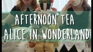AFTERNOON TEA ALICE IN WONDERLAND - MINUTE DALLE
